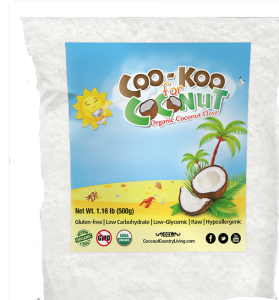 Introduction of Cookoo for Coconut USDA Organic Coconut Flour