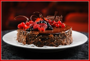 luscious raw chocolate cake recipes
