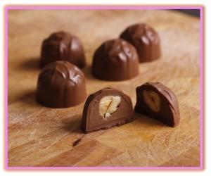 raw chocolate bonbons