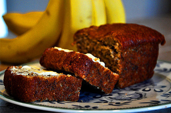 Banana Coconut Breakfast Cake