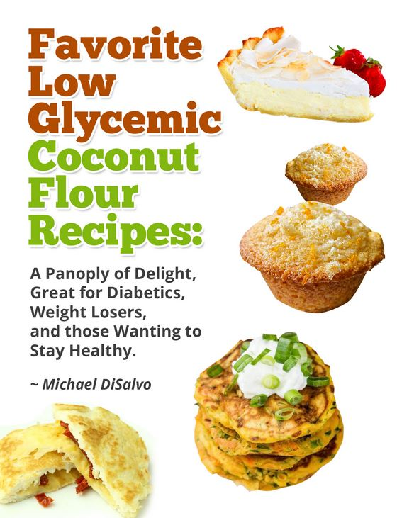 low glycemic coconut flour recipes