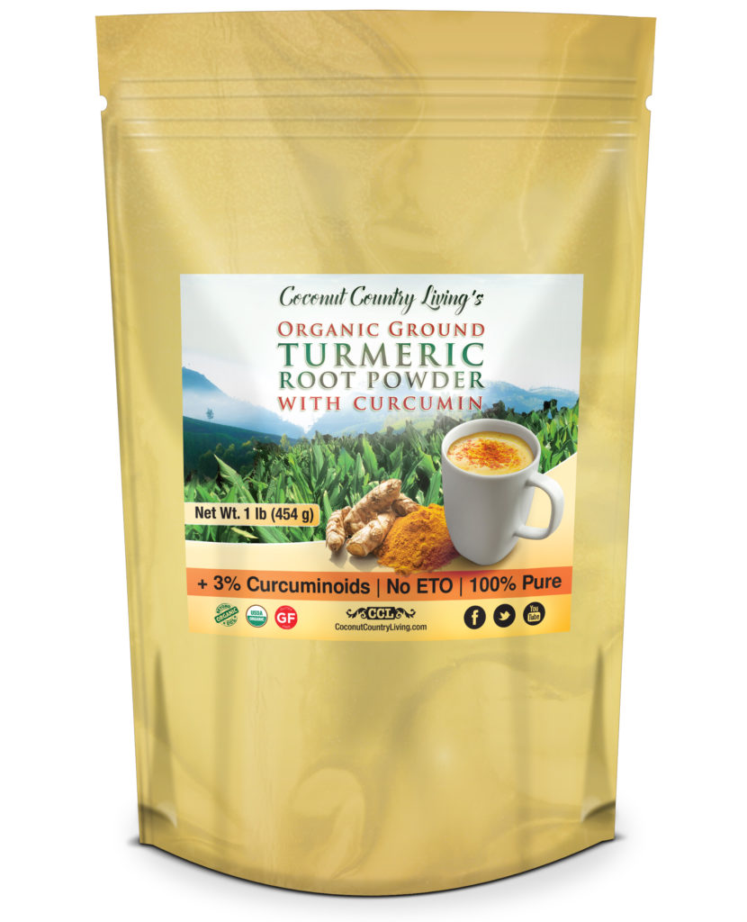 Premium Organic Turmeric Root Powder I lb size now on Amazon.com