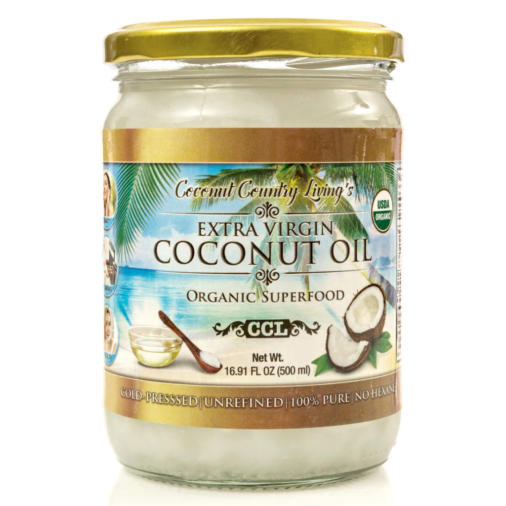 CCLb1032 Extra Virgin Coconut Oil 2 packs of 16.91 oz