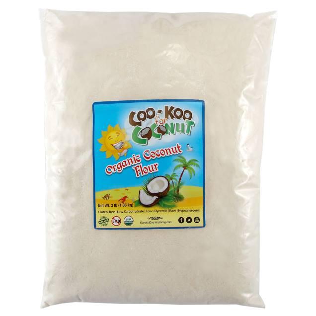 CFCa1001 Organic Coconut Flour 3lbs