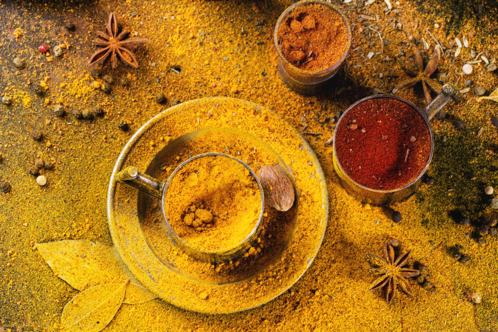 try turmeric, the favorite kitchen spice of india