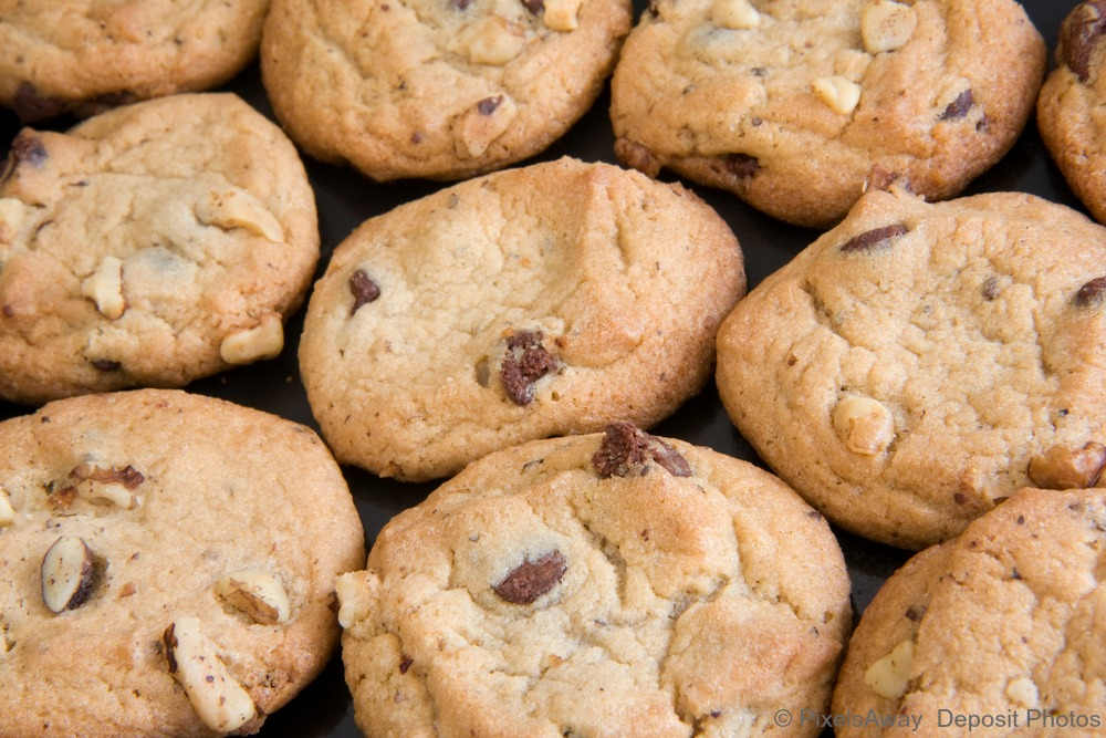 Mini REAL Chocolate Chunk Cookies from Coconut Flour ...