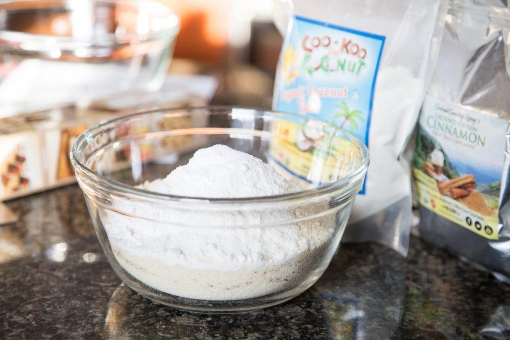 coconut flour for coffee cake recipe