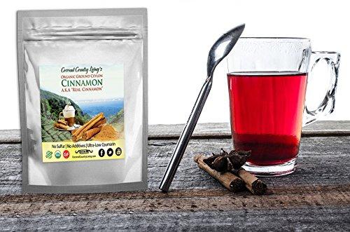 Organic Ceylon Cinnamon powder with free e-book