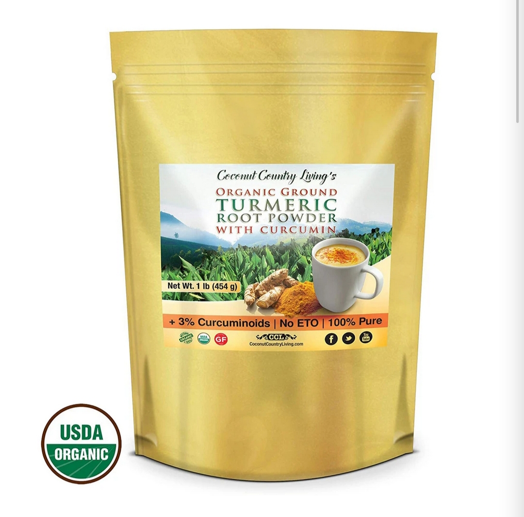 Our Organic Turmeric-for-Раіn -Rеlіеf-and-Inflammation