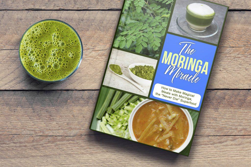 Free Moringa Hacks Ebook with Any Purchase of CCL's Organic Moringa Leaf Powder