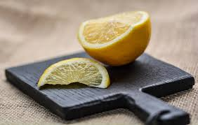 lemon works well with turmeric for a clean complexion