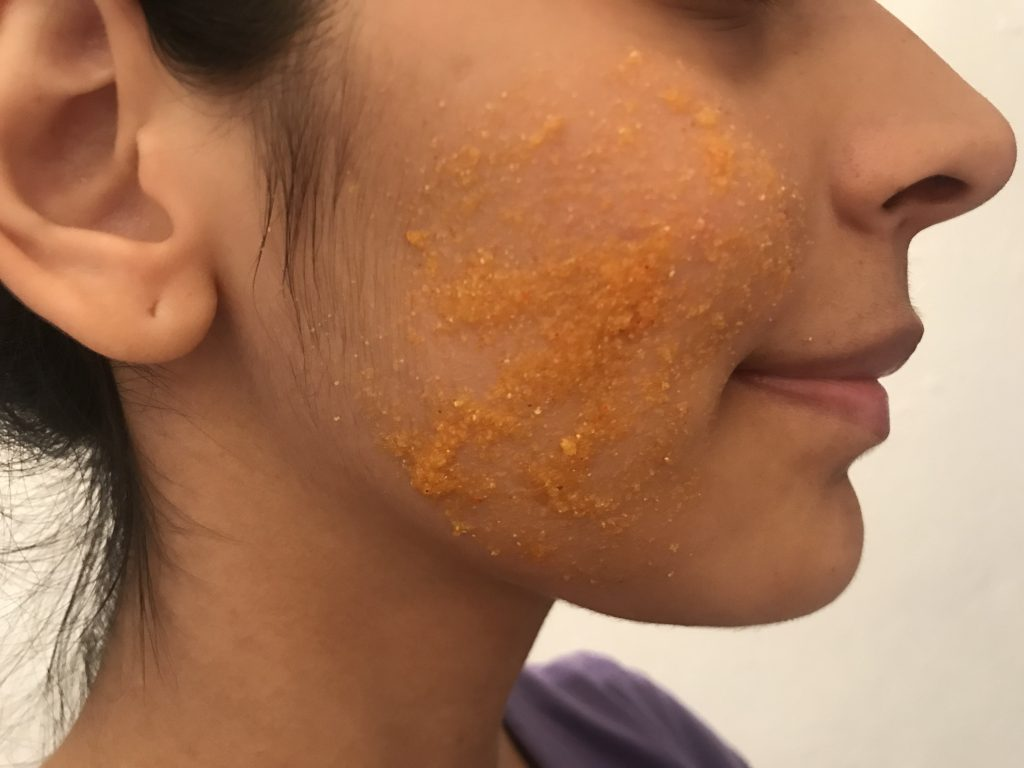 coconut oil and turmeric for blemishes