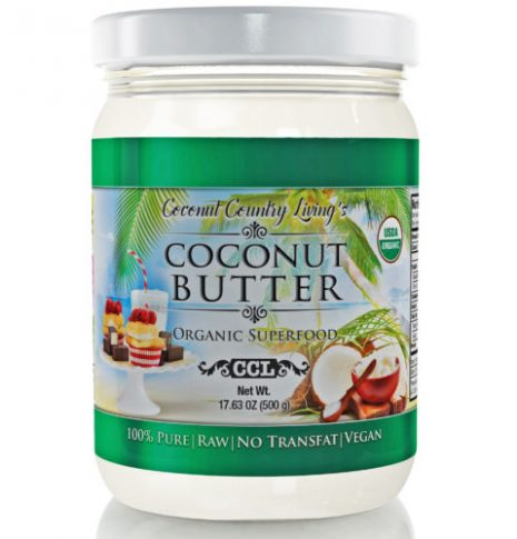organic coconut butter manna