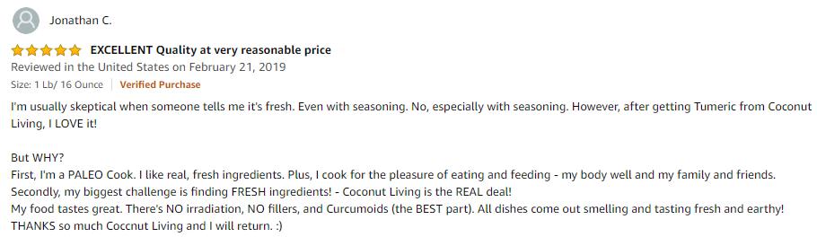 2019 fresh turmeric powder review paleo cook