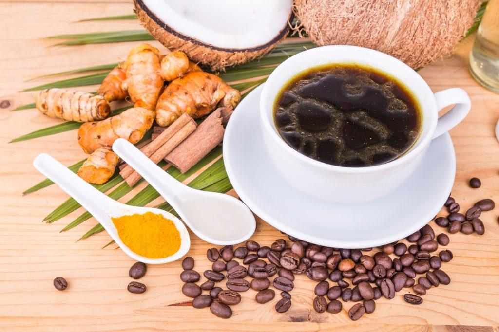 coconut oil to release curcumin