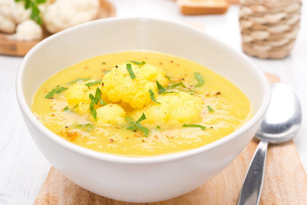 cauliflower with turmeric recipe