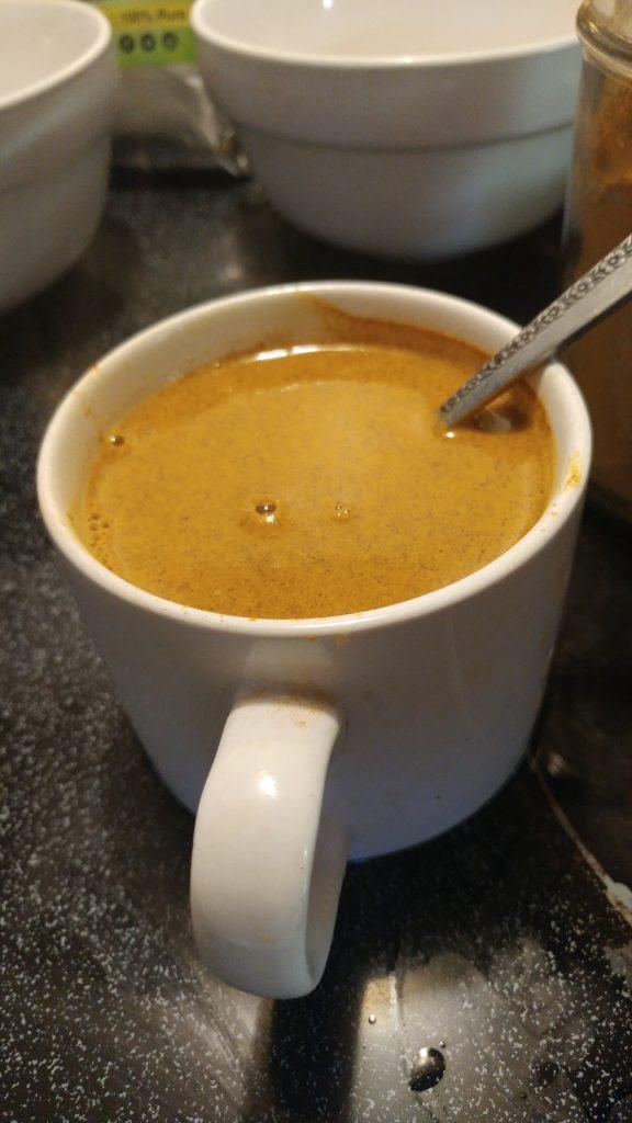 dyi turmeric tea to lose belly fat
