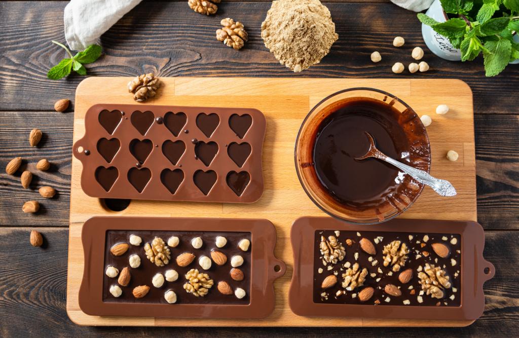 make chocolate with turmeric